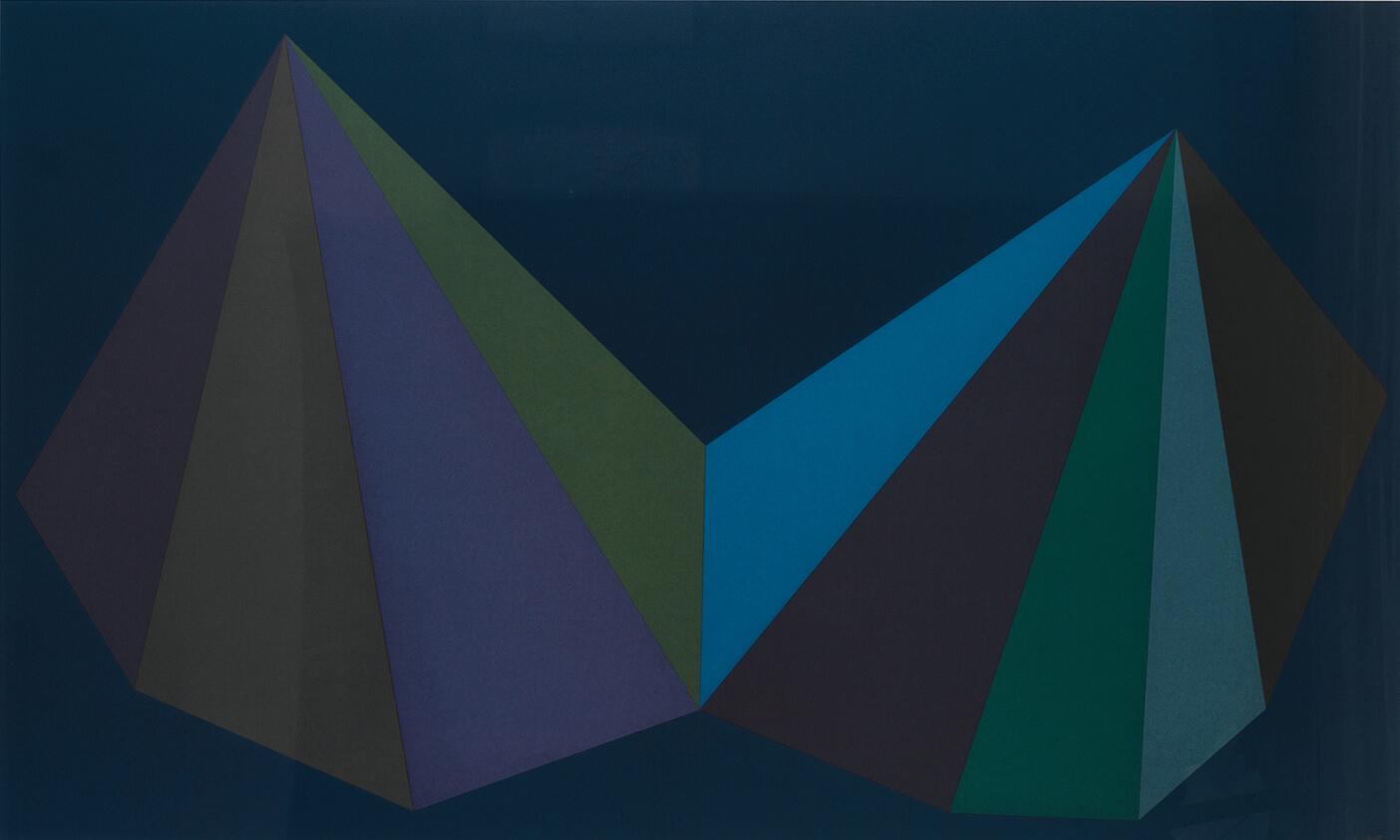 Two Asymmetrical Pyramids: Plate 3