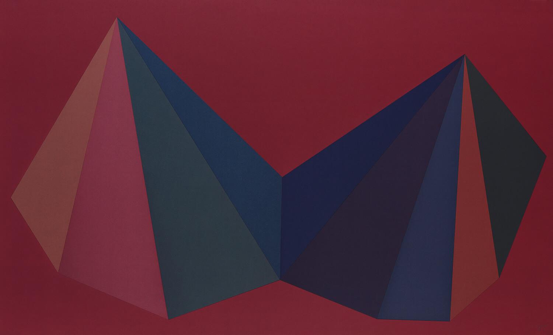 Two Asymmetrical Pyramids: Plate 1