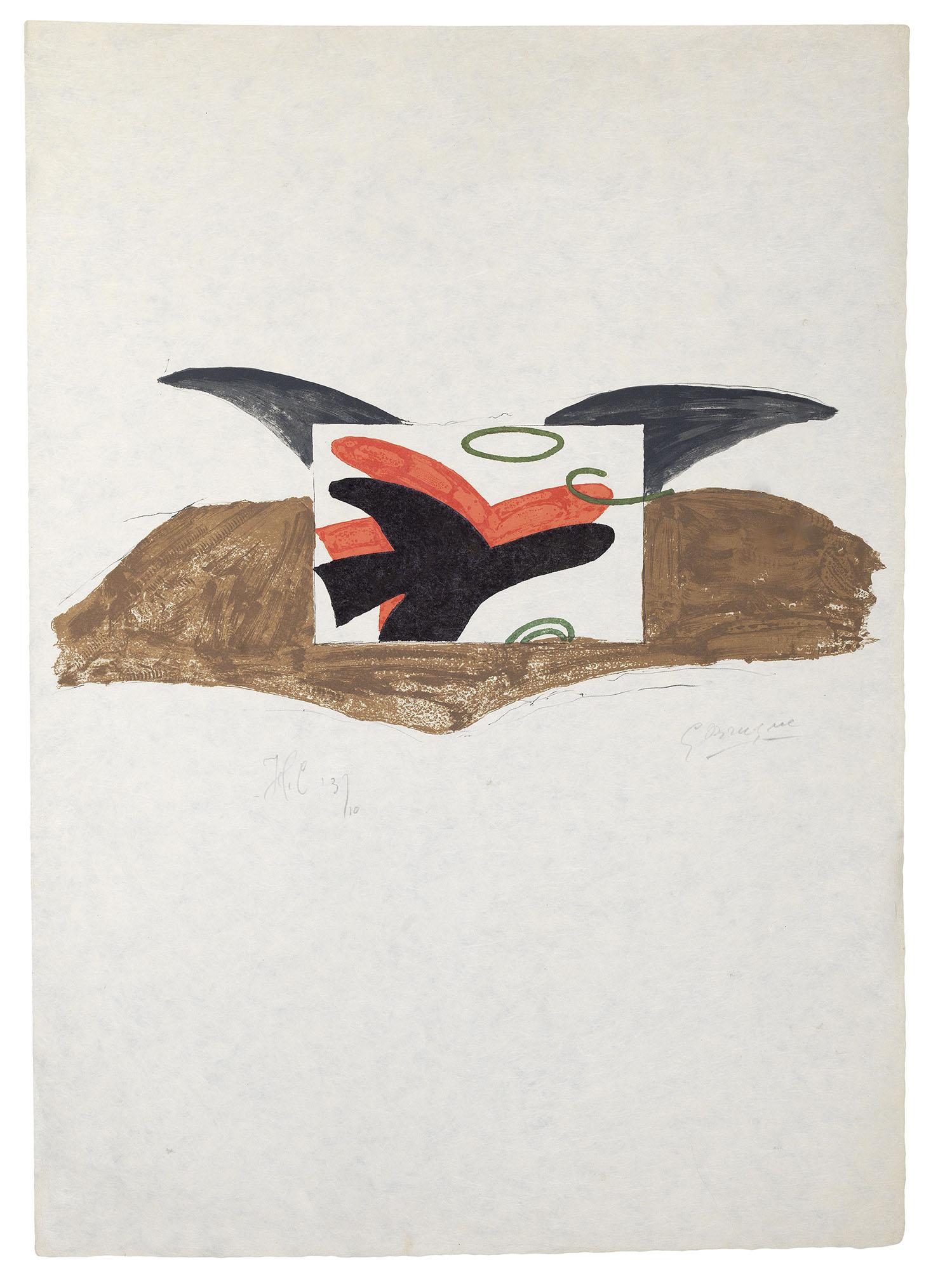L'Amitie - Affiche pour Lettera Amorosa von Rene Char