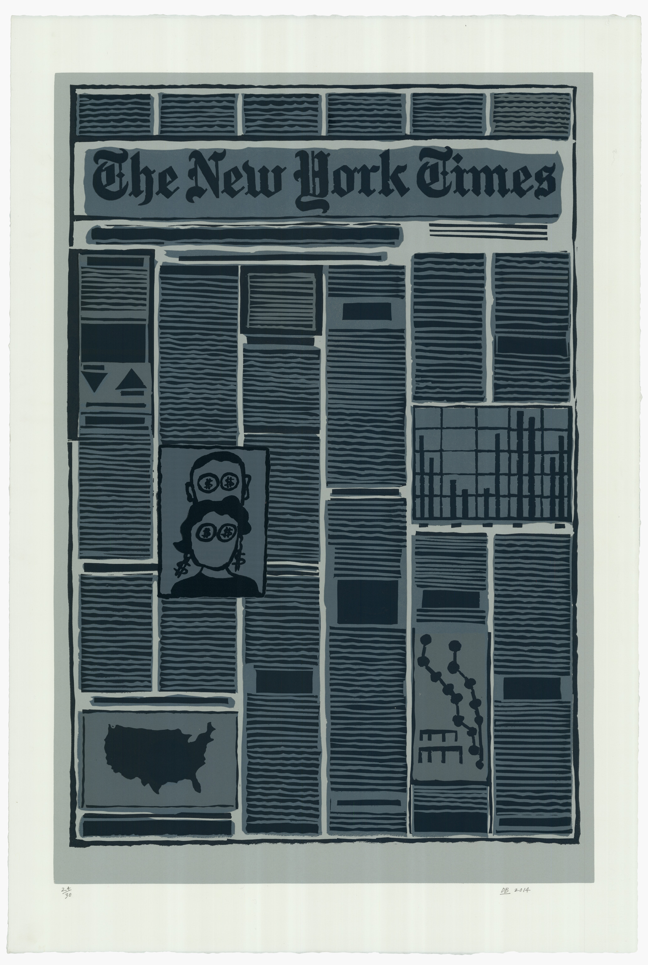 New York Times Financial Section