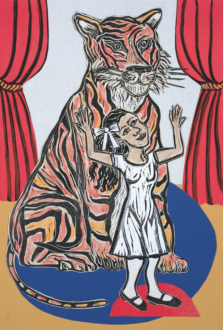 Tiger and Princess