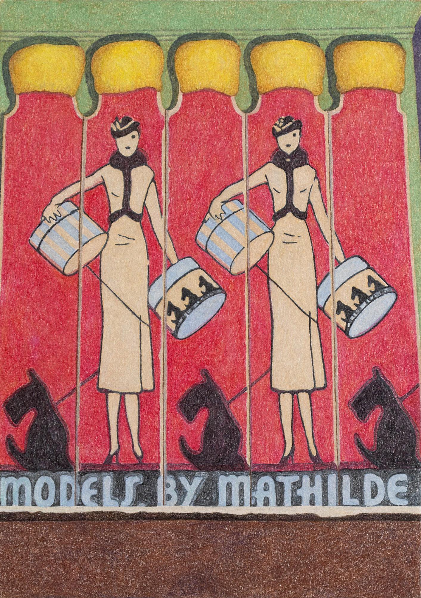 Models by Mathilde
